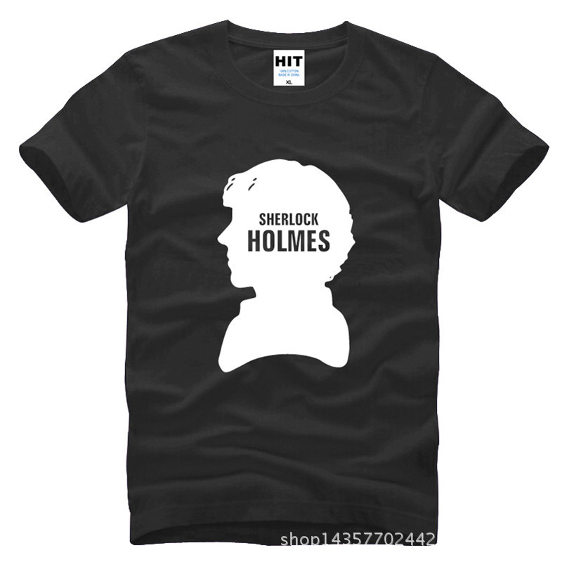 Sherlock Holmes Watson rasieren Avatar Locke gedruckt Herren Herren - Herrenbekleidung - Foto 3