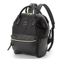 Leather Backpack Ring Anello Backpack School Bags Anneau Masculina Japan Sac A Dos Muchila Women Zaino Escolar Feminina
