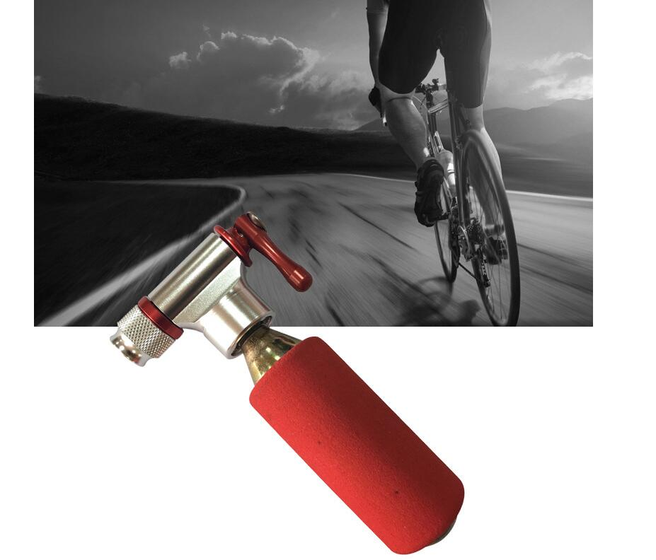 Portable CO2 Inflator Bicycle Air Pump Mini Ball Cycling Mountain Bike Tire Pump