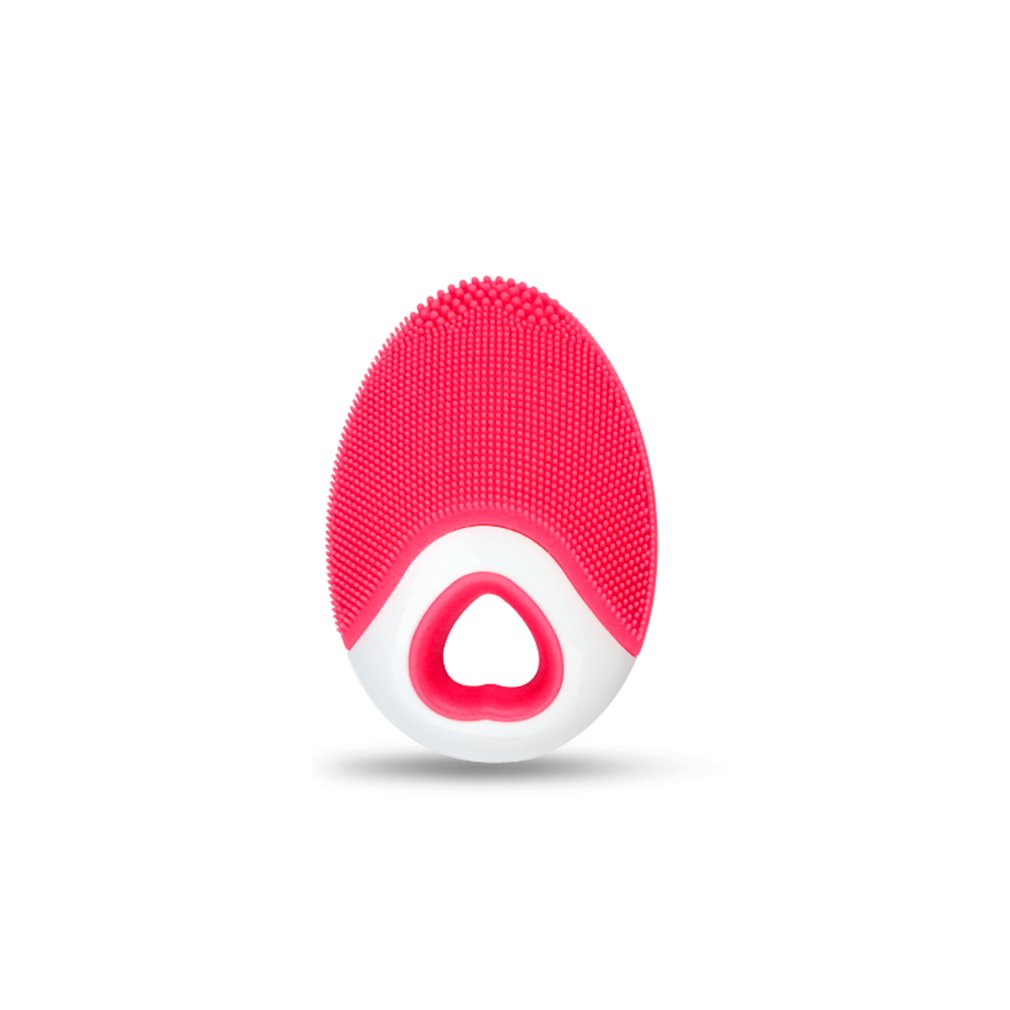 Ultrasonic Silicone Facial Brush Cleaner Pore Cleaning Device Wireless Charge Waterproof Electric Face Massaging Brush цены онлайн
