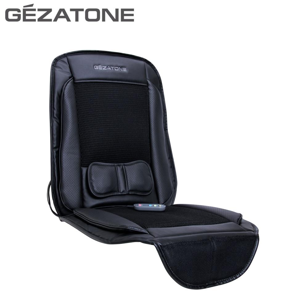 Massage Tools Gezatone 1301196 massager car seat cover relaxation massage tools gezatone 1301142 chair cape back roller massager