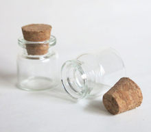 Recipientes de armazenamento pequenos vazios pequenos do frasco de vidro da rolha da cortiça do frasco de vidro 100x4ml mini frascos de vidro claros com cortiça 4cc