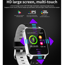 X9 1.54 inch Multi-Touch Screen IP68 Waterproof Smart Watch With LED Light Heart Rate Monitor Smartwatch Connect Android Iphone