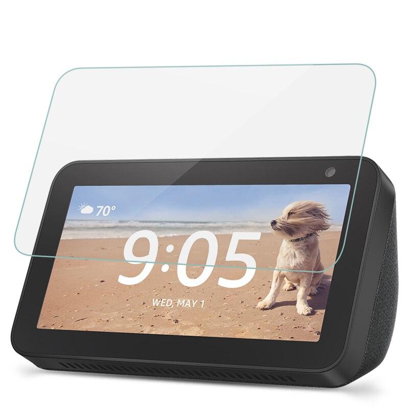 """Resistenza ai graffi Protezione Dello Schermo Per Amazon Echo Mostra 5 Vetro Temperato Per Amazon Echo Mostra 5 8.0 """"HD di Protezione pellicola di vetro"""