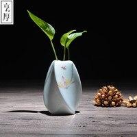 O envio gratuito de 2016 decoração de Casamento vasos de cerâmica china hidropônico pequeno vaso moderno e elegante mobiliário de casa decoração