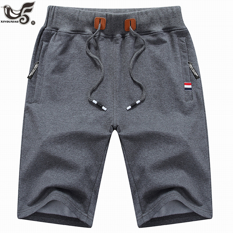 New Men's Shorts Summer Mens Beach Shorts Cotton Casual Outwear Sports Gym Joggers Running Male Shorts Homme Brand Clothing