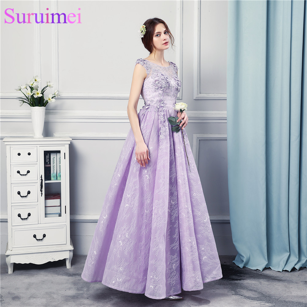 0227392f21 Royal Blue Evening Dresses Chiffon Cap Sleeves Applique Corset Purple  Silver Gray Vestidos De Cheap Long Evening Gown Prom DressUSD 78.00 piece