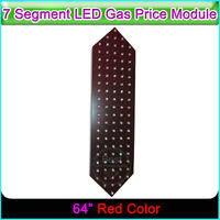 64 Red Color 7 Segment LED Display Gas Station Digita Numbers Module