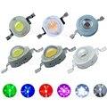 Светодиодные лампы высокой мощности  10 шт.  1 Вт  3 Вт  светодиоды SMD с теплым белым  красным  зеленым  синим  желтым светом для прожектора  лампы