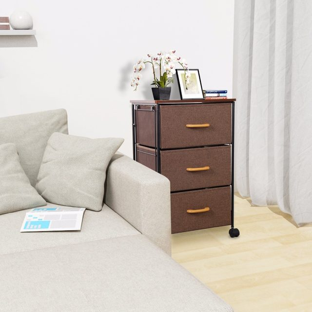 Online Shop Lifewit Rolling Chest Of Drawers HeavyDuty - Heavy duty bedroom furniture