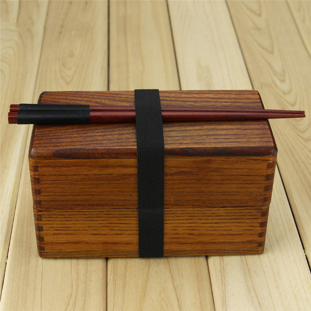 Box with chopsticks Cheap bento boxes 5c6479e2ee32b