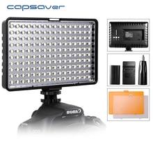 capsaver TL 160S Studio Light LED Video Light 160 leds Camera Light Hand held Photo Lamp Panel for Canon Nikon Youtube Shoot