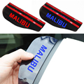 New Rearview Mirror Rain Shade Rainproof Blades Car Model letters rearview mirror Eyebrow For Chevrolet Malibu Car Accessories