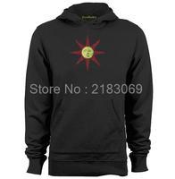 Dark Souls II Solaire van Astora Lof de zon Mens & Womens Gedrukt Hoodies Sweatshirts