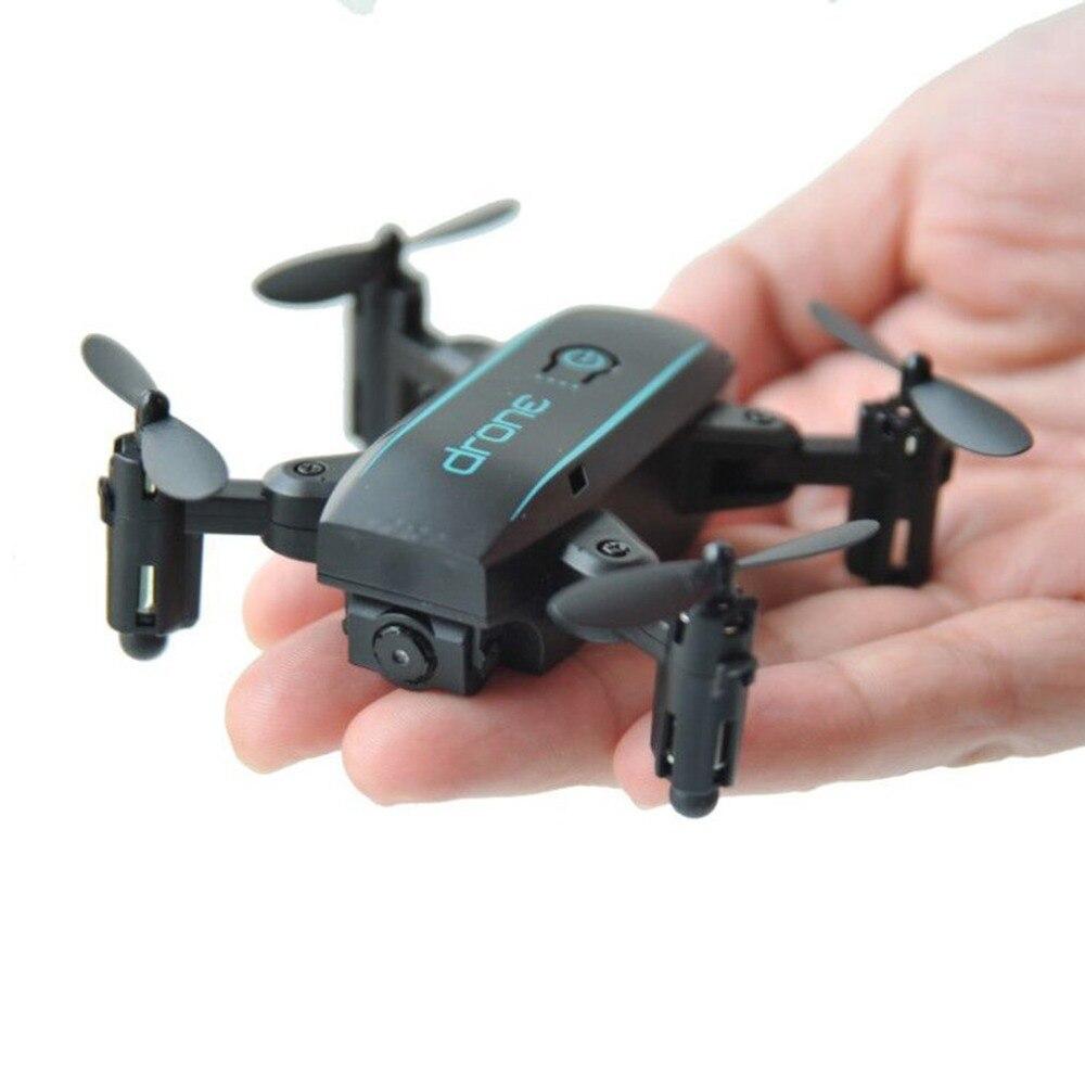все цены на Foldable Mini Drone with HD 2mp 720P Camera 2.4G RC Drone Professional FPV Wifi Micro Quadrocopter Headless Mode Altitude Hold онлайн