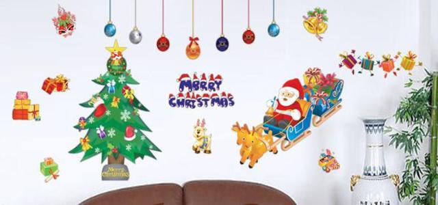 Merry Christmas Home room Decor Removable Wall Sticker/Decal/Decoration B40402