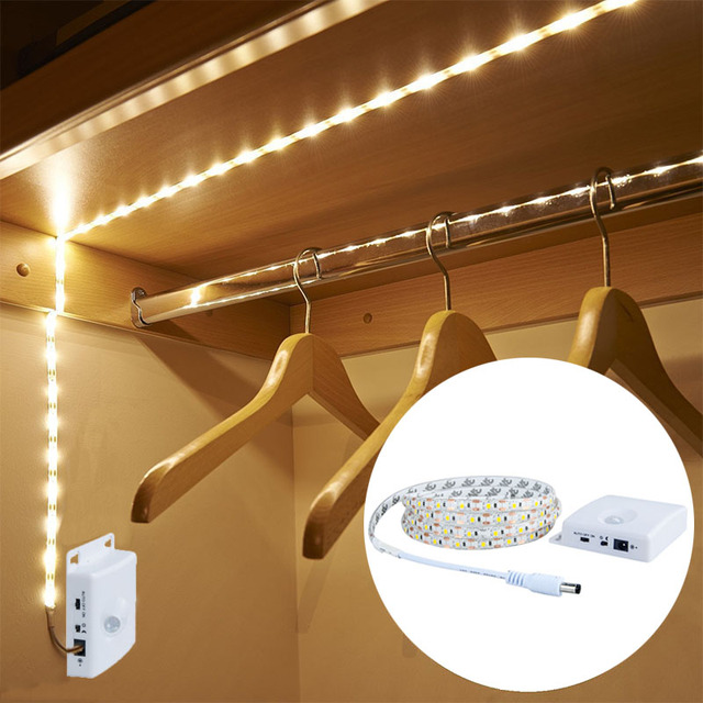 Eeetoo Pir Luminaire With Motion Sensor Night Light Usb Led Waterproof Cabinet Stairs Light Closet Kitchen Decoration Luminaires In Led Night Lights