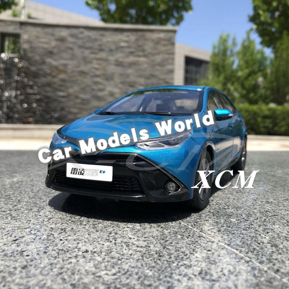 Diecast Car Model for Levin PHEV Hybrid 1 18 Blue SMALL GIFT