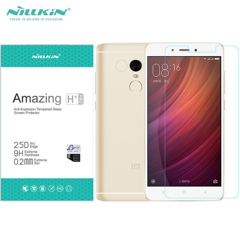 Nillkin H/H + PRO Verre Film Pour Xiaomi Redmi Note 4 Premier Trempé Protecteur D'écran En Verre Pour Redmi Note4