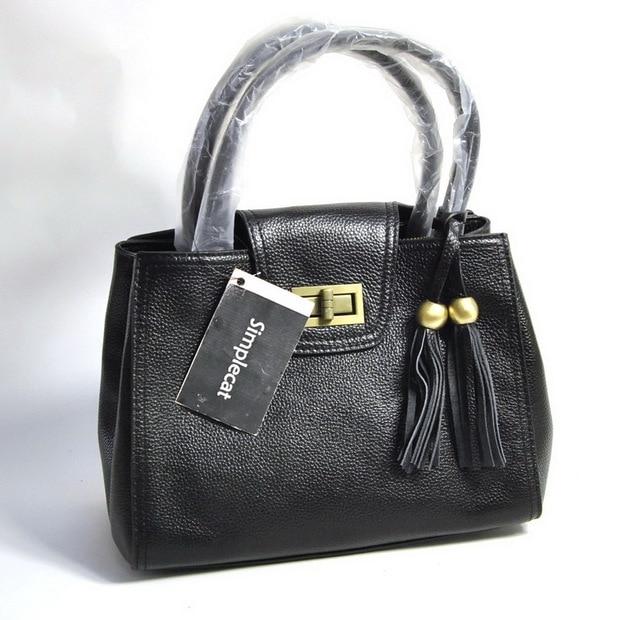 Women Genuine Real Leather Fashion Handbag Tassel Fringe Bag Shoulder Cross Body Purse Satchel Hobo Messenger Casual Daily Lady