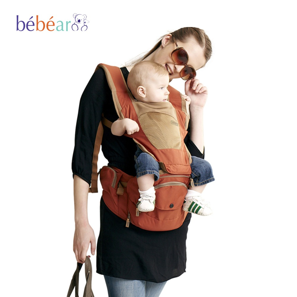 Baby Kangaroo Baby Bag Hipseat Baby Sling Backpack Carrying Children Mochila Ergonomica Portabebe Baby 360 Carrier