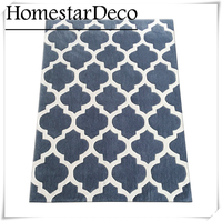 Living Room Carpet Blue Grey Carpet 3D Rugs Carpet Big Livingroom Carpet Geometric Strip Carpet Rugs
