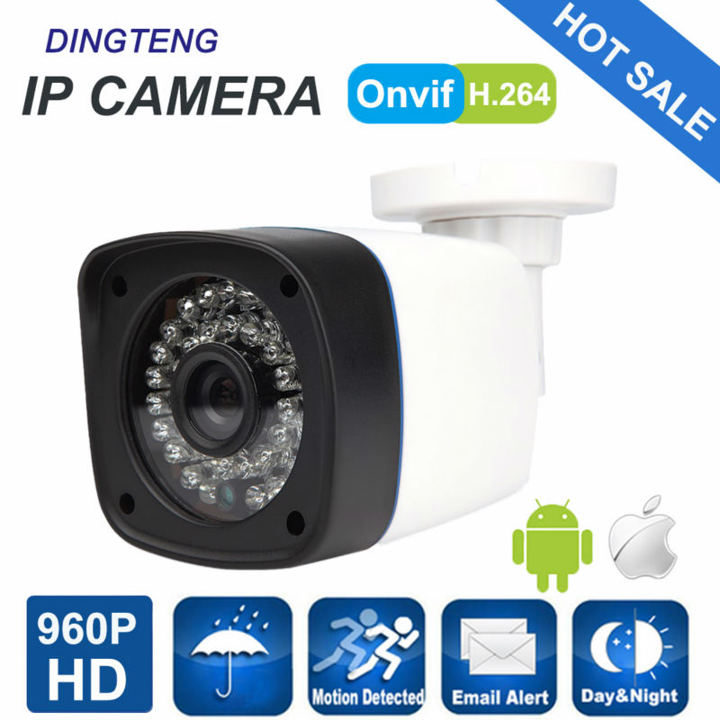 IP Camera 960P Full HD camera IP outdoor p2p Night Vision Waterproof CCTV Camera IR-CUT  Housing CCTV Camera System advanced 128gb cctv camera 50 meters night vision waterproof housing