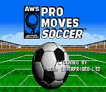 Pro Moves Soccer Game Cartridge Newest 16 bit Game Card For Sega Mega Drive / Genesis System