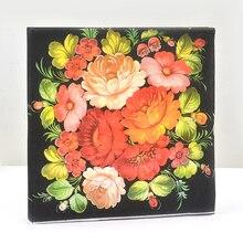 WN004 (3 packs=60pcs) Color Napkins Wedding Napkin Paper 100% Virgin Wood Tissue for Party Decoration цена и фото