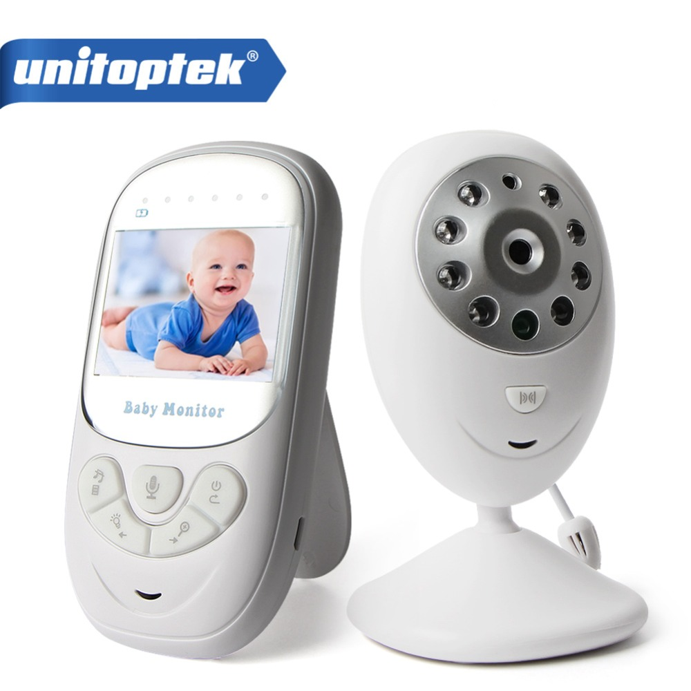 2.4'' TFT LCD Wireless Baby Monitor 2-Way Talk Digital Audio Video Baby Nanny Security Camera Night Vision VOX Mode 8 Lullabies wireless lcd audio video baby monitor security camera baby monitor with camera 2 way talk night vision ir temperature monitoring