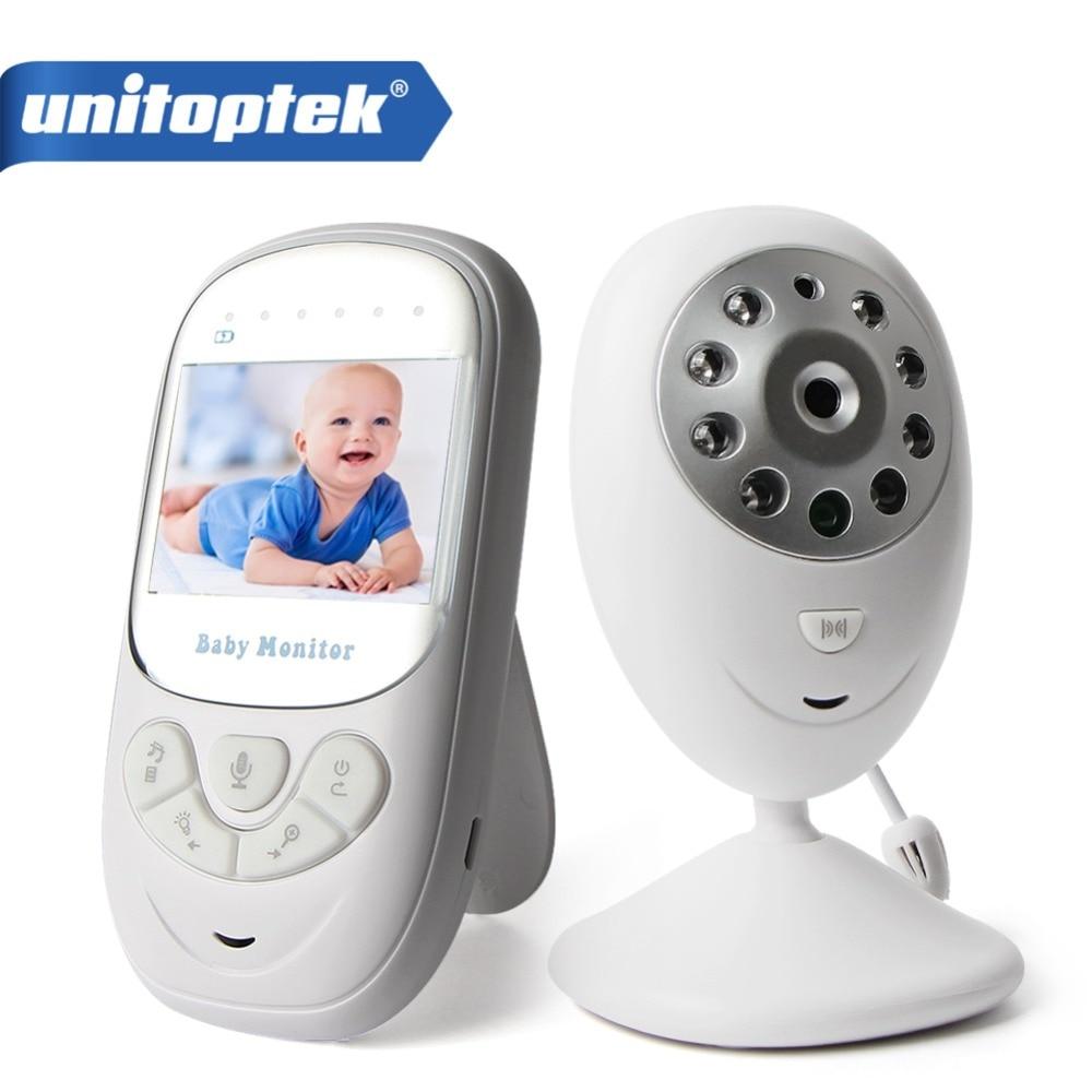 2.4 TFT LCD Wireless Baby Monitor 2-Way Talk Digital Audio Video Baby Nanny Security Camera Night Vision VOX Mode 8 Lullabies