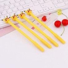 36 PCs เกาหลีการ์ตูนปากกาเจลปากกาพ็อกเก็ตเครื่องเขียนนักเรียน