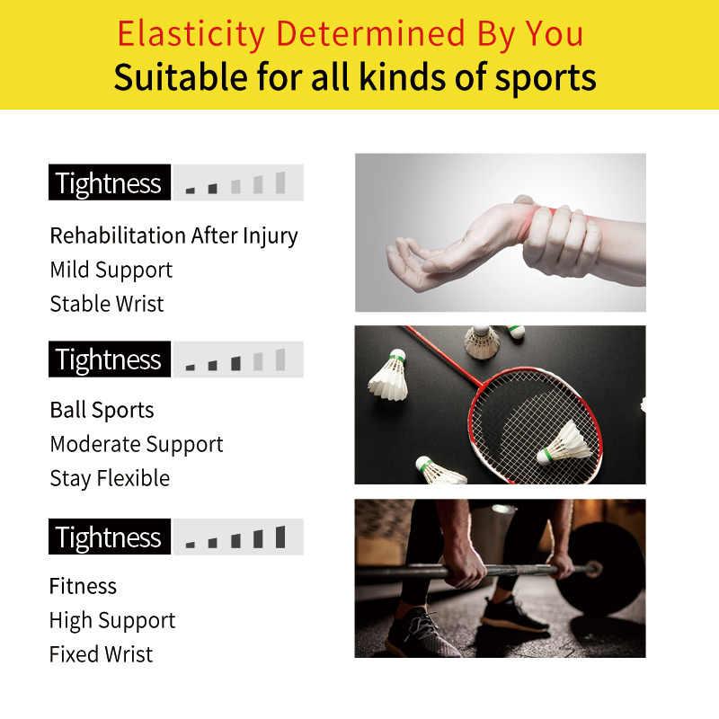 TMT muñequera soporte para muñeca ajustable refuerzo para vendaje para gimnasio deportes muñequera compresión envolturas con Tendonitis alivio del dolor