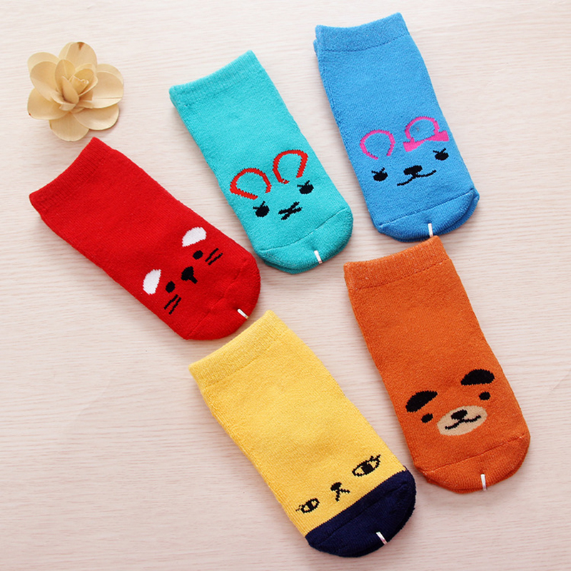 Cartoon Socks Infant Thick Clothes Breathable Terry Sock Winter Apparel Warm Kids Props Sweat Children Clothing Free Shipping