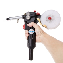 NBC-200A MIG Welding Gun Spool Gun Push Pull Feeder Aluminum Welding Torch Duty Cycle for Welding Tool Without Cable