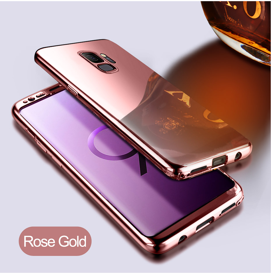 NKOBEE 3 in1 Coque For Samsung Galaxy S9 S8 Plus S7 Edge Note8 Cover Screen Flim For Samsung Galaxy S9 Luxury Case 360 Full Body (10)