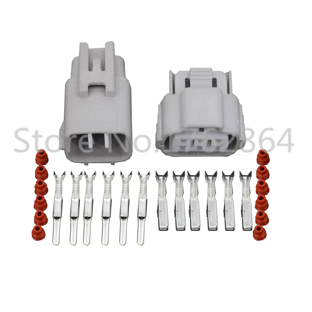 5 set Toyota 6 pins DJY7064B-2-11/21 female and male waterproof auto automotive connector