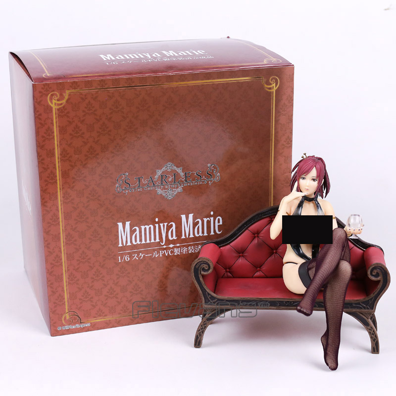 SkyTube Decadence Beauty Mamiya Marie from STARLESS 1/6 Scale Sexy Adult PVC Figure Collectible Model Toy