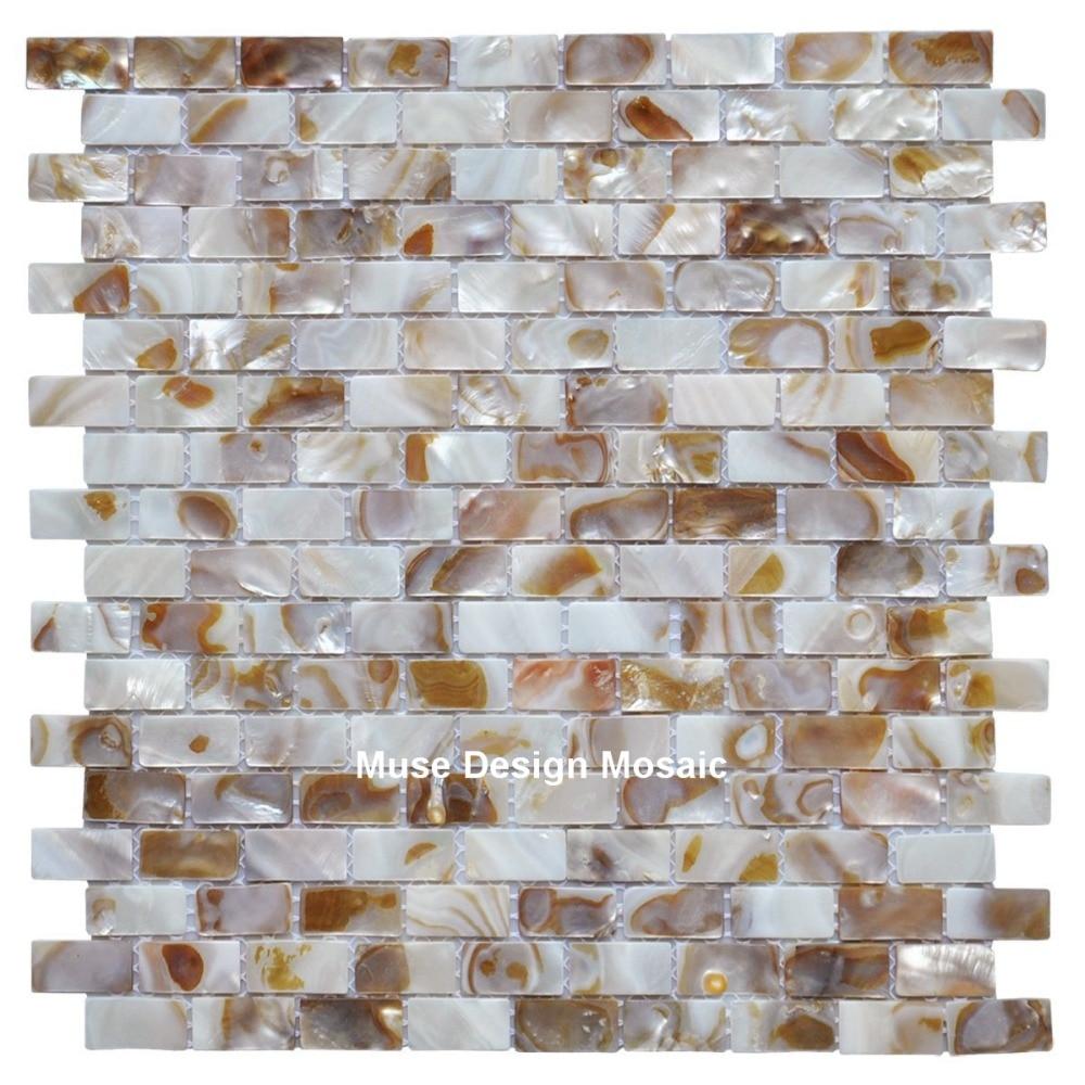 Shell Mosaik MOPP Natürliche Bunte Küche Backsplash Tapete Fliesen  Badezimmer Hintergrund Dusche Dekorative Wandfliesen In Shell Mosaik MOPP  Natürliche ...