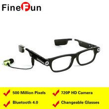 FineFun Bluetooth Sunglasses Audio Video Phone Calls Music Camera Photography Fatigue Remind Smart Glasses For IOS Android