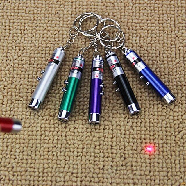 1 pz Giocattoli Per I Bambini di Colore LED Laser Della Penna Popolare Pet Casua