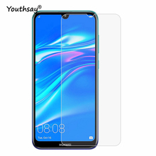 2PCS For Huawei Y7 Pro 2019 Glass Screen Protector Tempered Enjoy 9 Film 9H