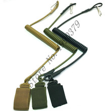Pistolet tactique de Combat réglable pistolet à main Secur pistolet à main lanière sécurisée sangle à ressort noir Tan armée vert