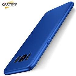KISSCASE Pour Samsung Galaxy S8 Cas Silicone Souple Retour Cas Pour Samsung A5 A3 2017 J3 J5 J7 2017 Pour S8 Plus S7 S6 Bord S8 S7