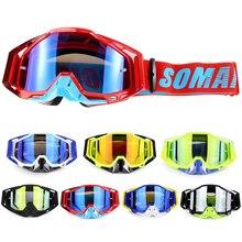 1ff87ea55224d Óculos de Proteção Da Motocicleta Óculos Oculos Gafas Ciclismo MX Off Road  Capacete Esporte Gafas para Moto Moto Sujeira Bike Ra.
