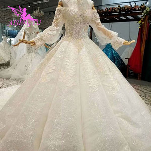 Image 5 - AIJINGYU This SeasonS Wedding Dresses Luxury Dubai Dress Hand Embroidery Designs Gowns Gown Bridal