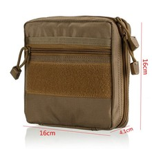 Tactical MOLLE EDC Pouch Utility Gadget Pouch – EMT Medical First Aid Pouch Kit Survival Gear Bag