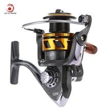 LIE YU WANG Fishing Reel 13 + 1 Bearings Double Color Spool Fishing Spinning Reel 5.2 : 1 Gear Ratio Fishing Wheel