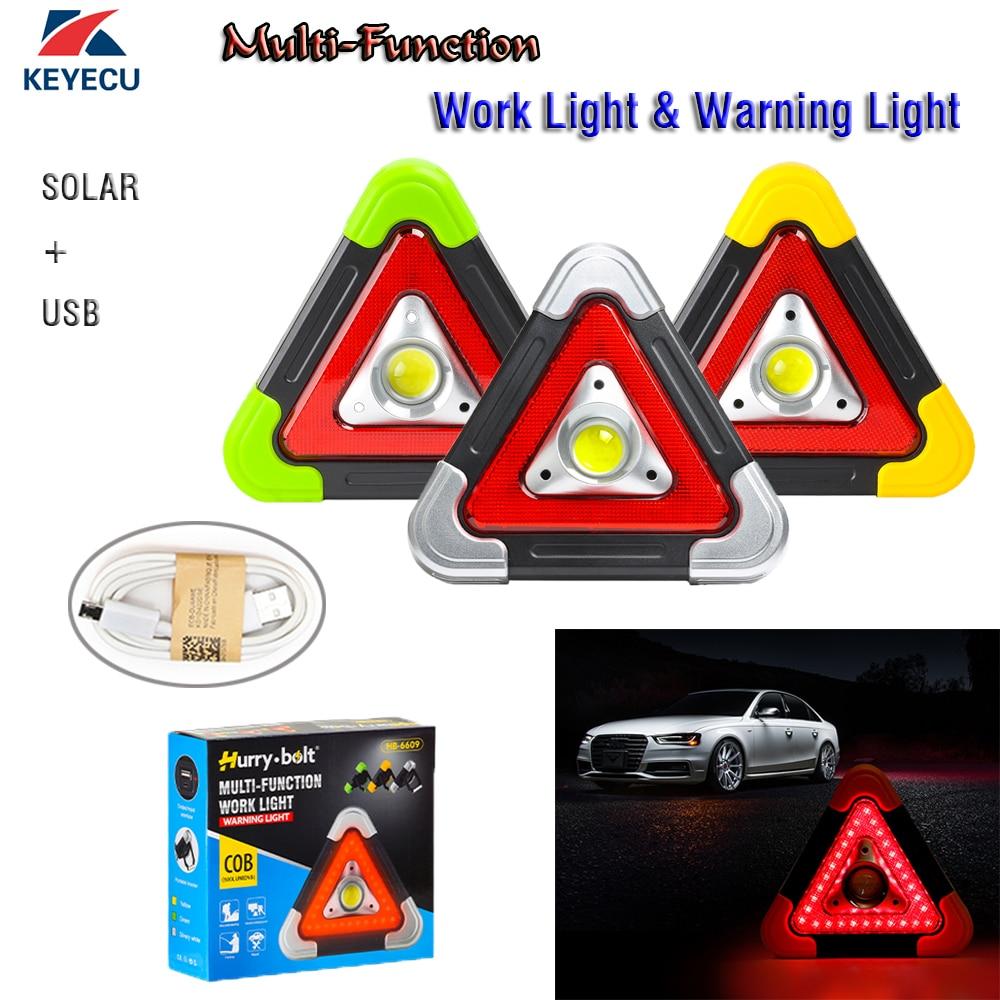 Keyecu Solar+USB Charging Emergency Lighting Maintenance