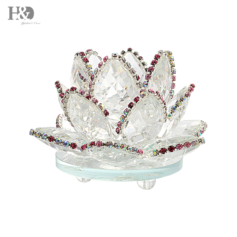 Hot sale hd xmas gifts 32 crystal lotus flower ornament fengshui hd xmas gifts 32 crystal lotus flower ornament fengshui mascot crystal flowers office home wedding decor crafts3 colors mightylinksfo